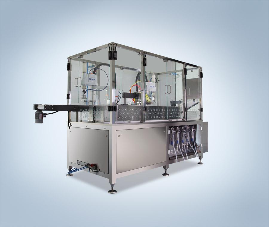 Pentfill A25 macchine di riempimento e saldatura per contenitori monodose Lameplast