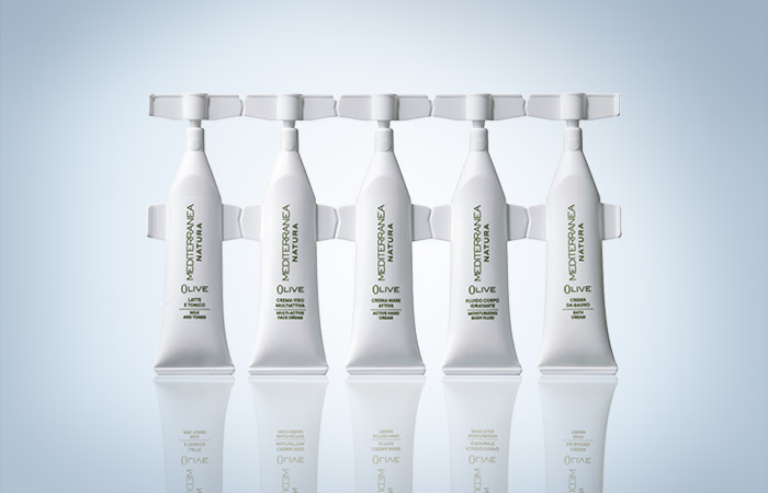 "Fratelli Carli's Mediterranea brand chooses Lameplast's green single-dose for its new ""Olive"" line"
