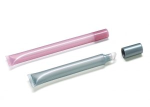 Tube with silicon applicators