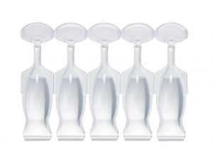 Multi-layer strips of 5 single-dose vials of 3 ml Lameplast